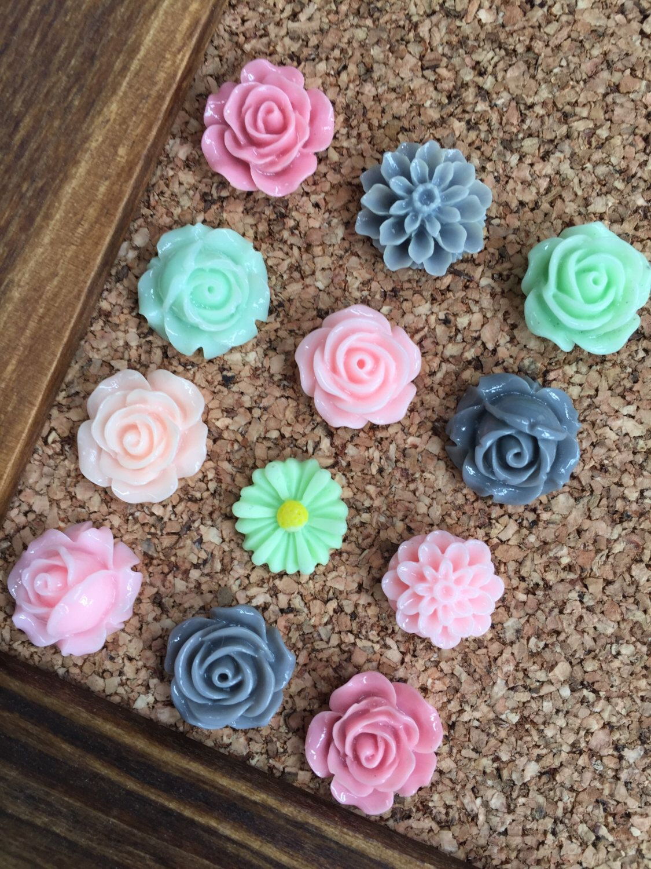 Cute Thumbtacks Just Because Gift For Her Rose Tacks Teen