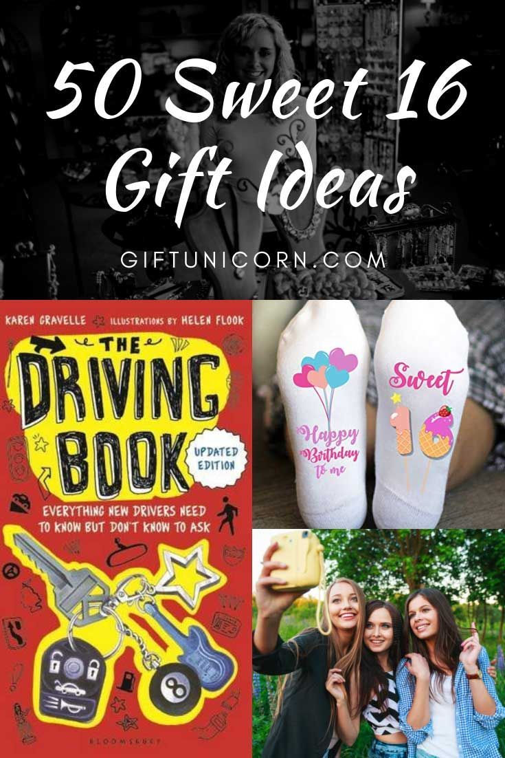 50 sweet birthday gift ideas for her sweet sixteen