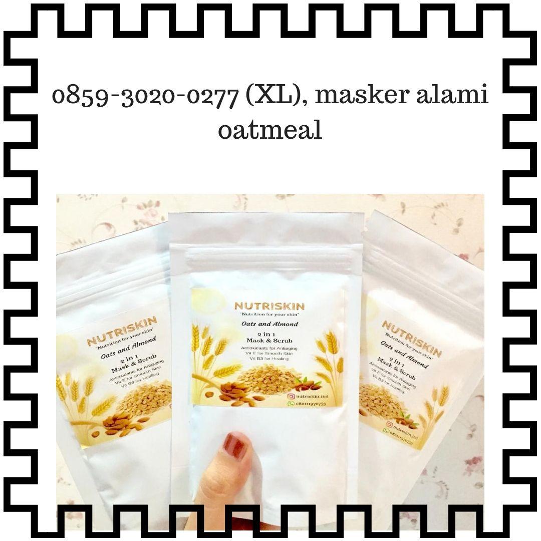 Masker Alami Tanpa Efek Samping, Masker Alami Vitamin E