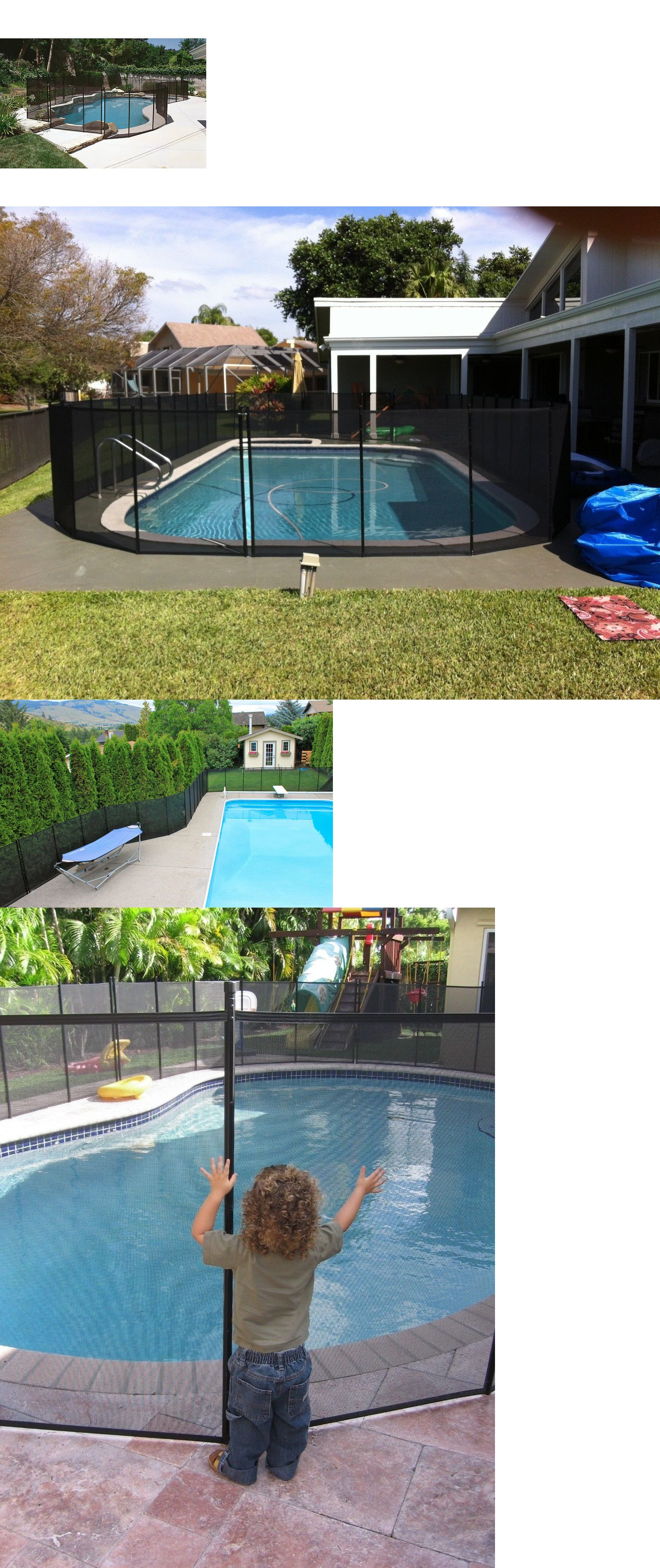 Pool Fences 167851 Water Warden In Ground Pool Safety Fence 4 X 12 Section Wwf200 Buy It Now Only 84 99 On Ebay Pool Safety Fence Pool Pool Safety