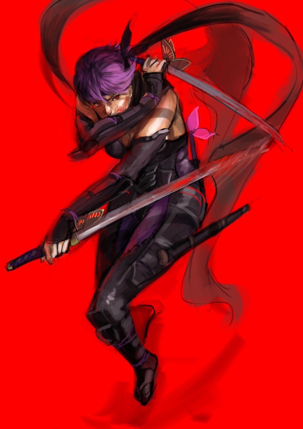 Pin By Grn 0083 On Samurai Warriors Ninjas Ninja Gaiden Ninja Girl Female Ninja