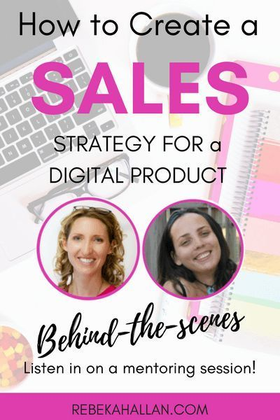 How To Create A Sales Strategy For A Digital Product  When