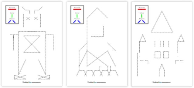 Lineas Horizontales Verticales Y Diagonales Actiludis Lineas Horizontales Y Verticales Lineas Horizontales Actiludis