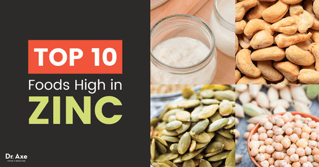 Top 15 Foods High in Zinc and Their Health Benefits Dr