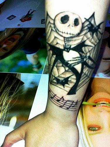 Jack skellington on pinterest jack skellington for Jack the pumpkin king tattoo
