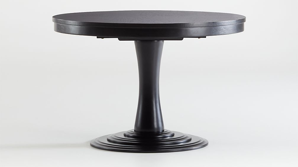 Aniston white 45 round extension dining table reviews