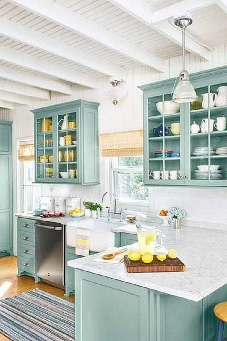 73 Extravagant Beach Cottage Kitchen Design And Decorating