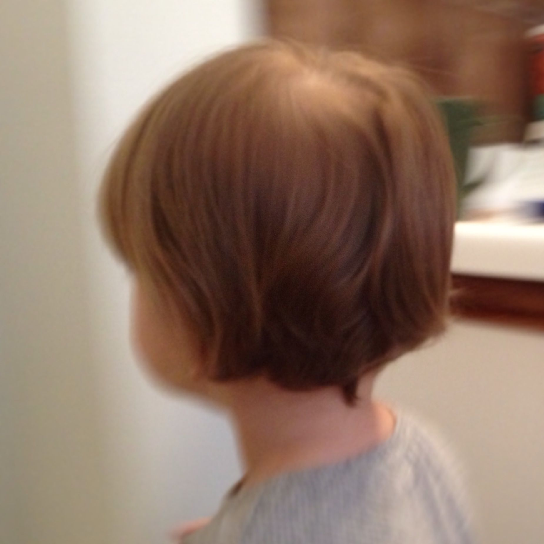 my 2 year old girl's new hair cut. to die for. - toddler