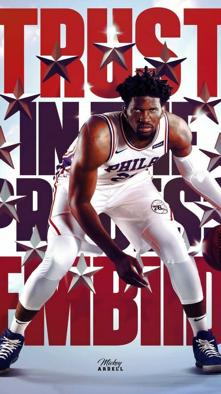 Joel Embiid Wallpaper Basketball Games Today Nba Sports