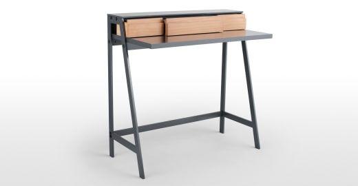 Make Up Tafel : Finnick make uptafel grenenhout en grijs bedrooms