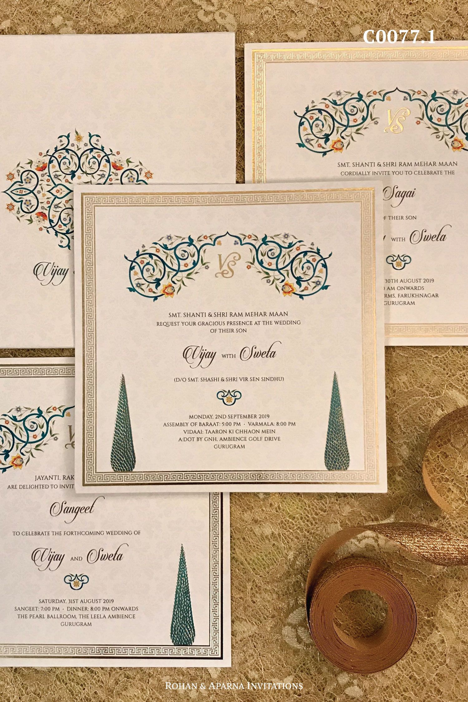 Pin by Nandinee Mengle on Invitation cards in 2020 | Digital invitations  wedding, Indian wedding invitation cards, Wedding invitation cards