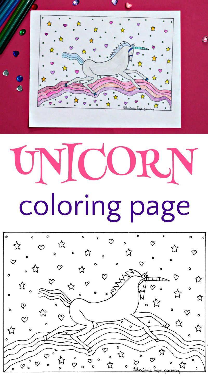 Unicorn And Rainbow Coloring Page Unicorn Coloring Pages Coloring Pages Kids Summer Reading