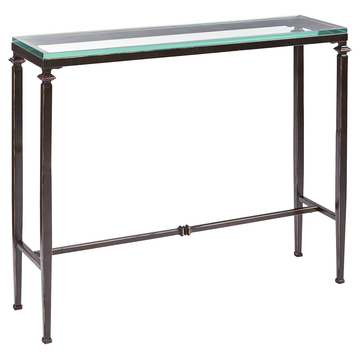 Perfect For Tv Or Bedside Lincoln Console Table Glass Console Table Narrow Console Table Slim Console Table