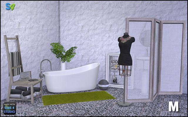 Sims 4 CC's - The Best: Bathroom by Mango Sims