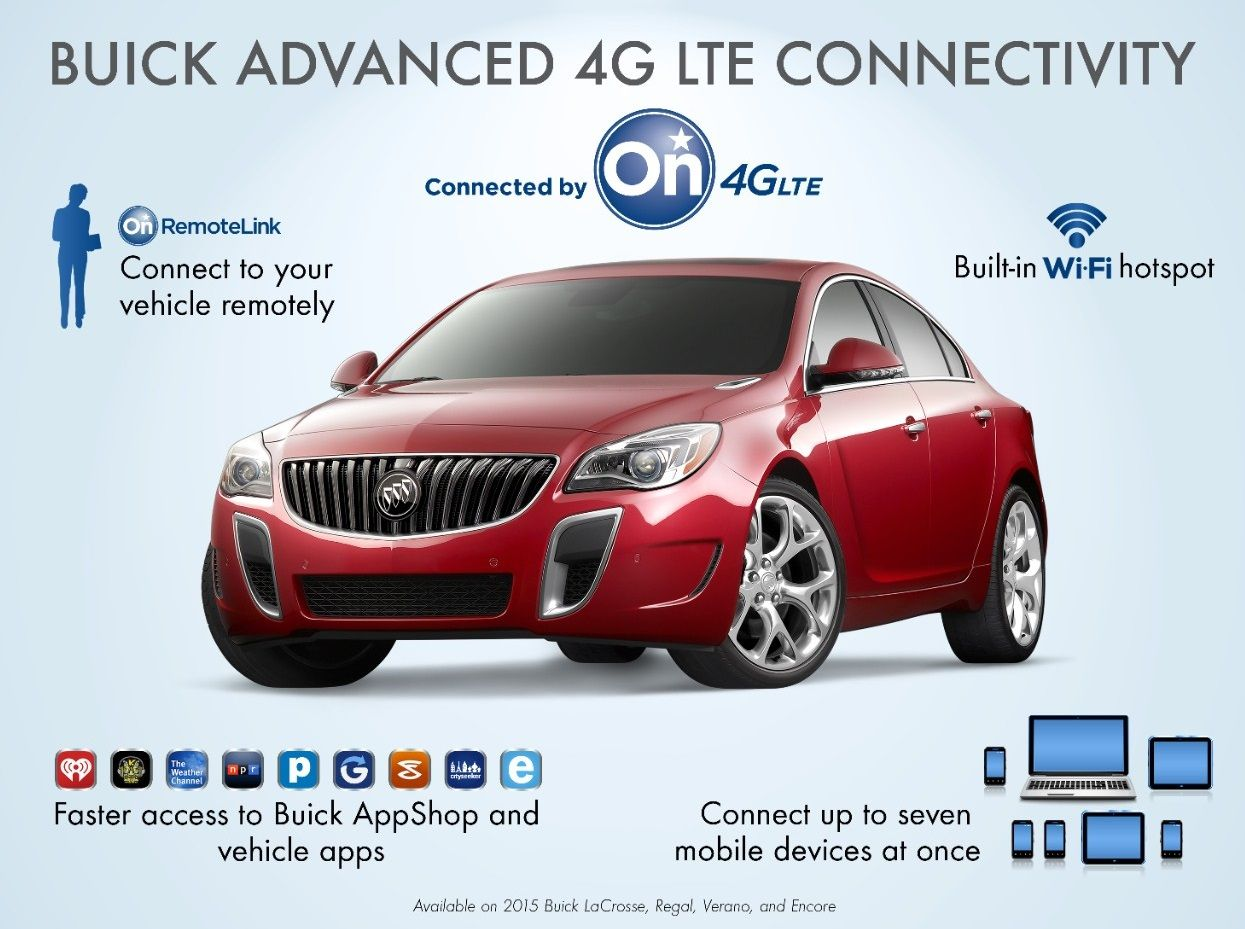 2015 Buick Vehicles Are The First Gm Cars To Have Wireless