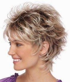 Pleasant Short Wavy Shag Haircut Hair Pinterest Hairstyles Shorts Hairstyles For Women Draintrainus