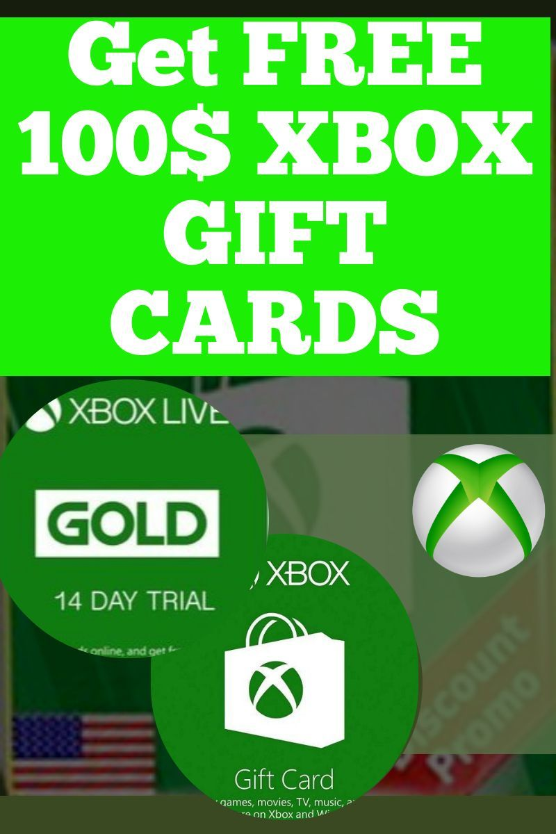 Get a 100 xbox gift card giveaway in 2020 xbox