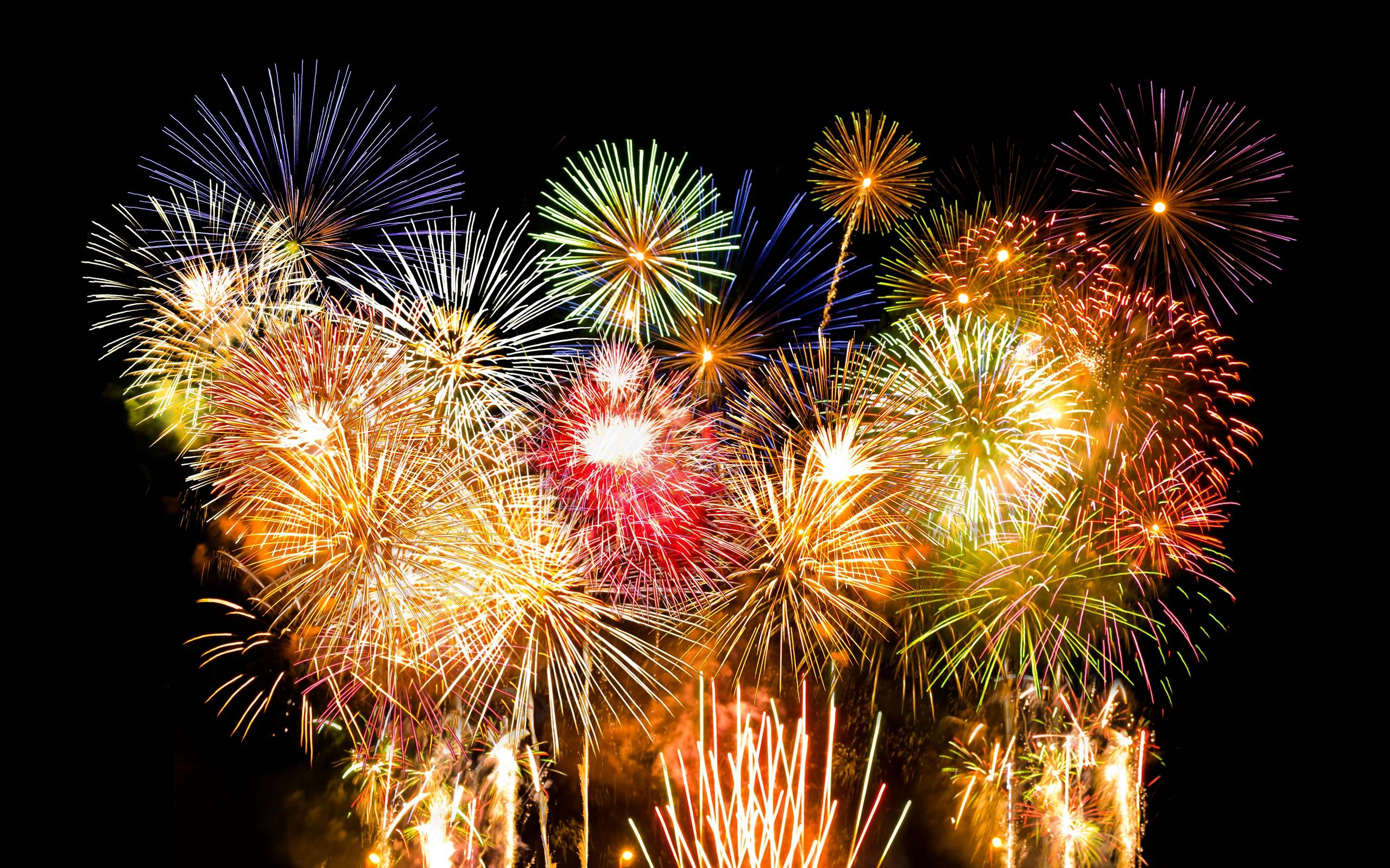 Firework Wallpaper Desktop Background New years eve