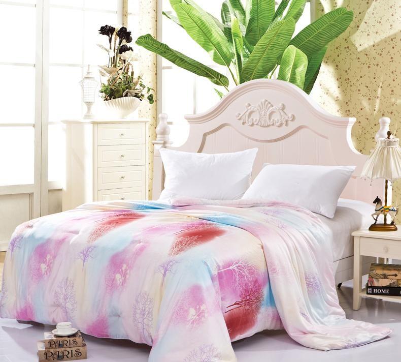 Hot sale 100% Silk comforter/quilt/Blanket/Duvet,for Spring Home ... : silk quilts for sale - Adamdwight.com