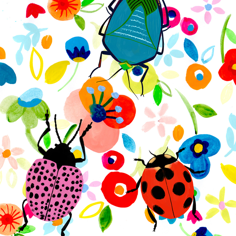 Emma Jayne — The Bright Agency in 2020 Ladybug, Flowers
