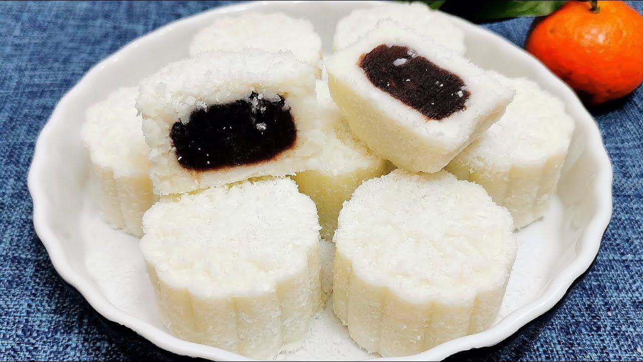 山药这么做太香了 健脾养胃 营养健康 奶香椰香简单又美味 Yam Cake Food Mini Cheesecake Recipes
