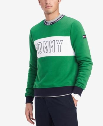 Tommy Hilfiger Big Logo Hoodies Made in USA, Men's Fashion