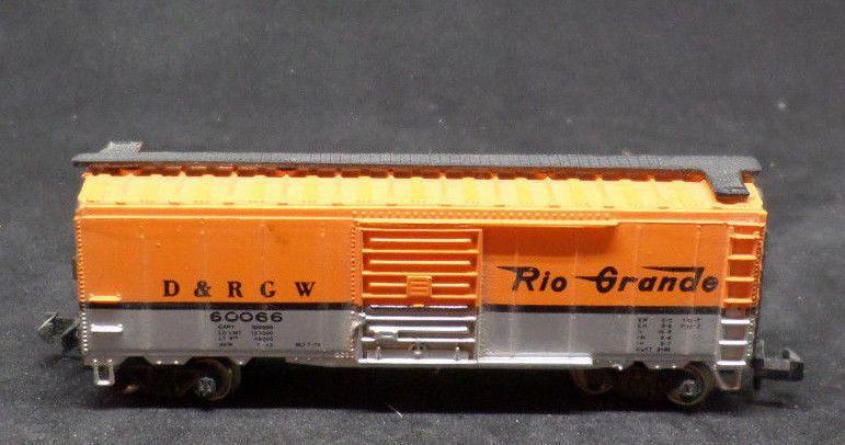 Bachmann N scale D&RGW Rio Grande freight car bright orange