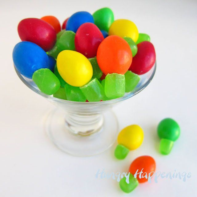 Christmas Parties, Christmas Candy, Christmas Lights, Mike And - Quick And Easy M&M And Mike And Ike Christmas Lights Recipe