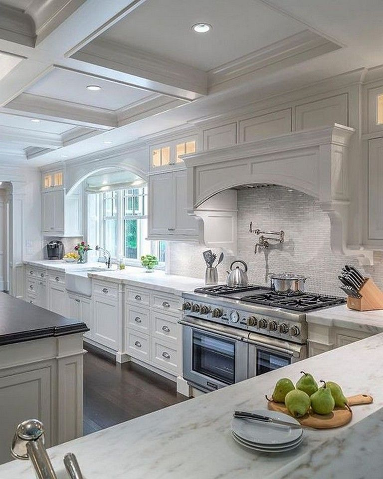 20 Good Traditional Kitchen Interior Design Ideas For Your Classic Home Page 23 Of 28 In 2020 White Modern Kitchen Diy Kitchen Renovation Kitchen Renovation