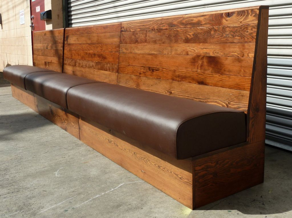 Bench Seat Cushions Diy Restaurant Booth Seating Dining