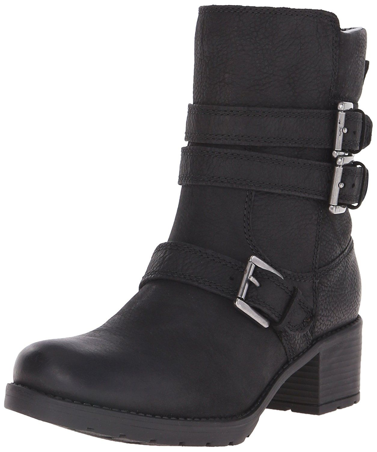 Rockport Womens City Casuals Rola Buckle Bootie Black Tumble WL Boot 65 W C  *** Find out more about the great product at the image link.