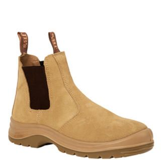 Jb S Elastic Sided Safety Boot Sand Suede Boots Safety Boots Shoe Boots