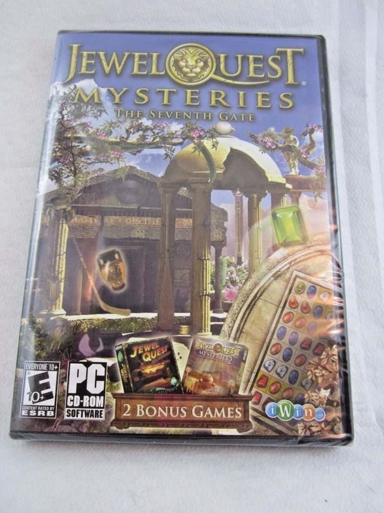 Jewel Quest Mysteries 3 The Seventh Gate PC Puzzle