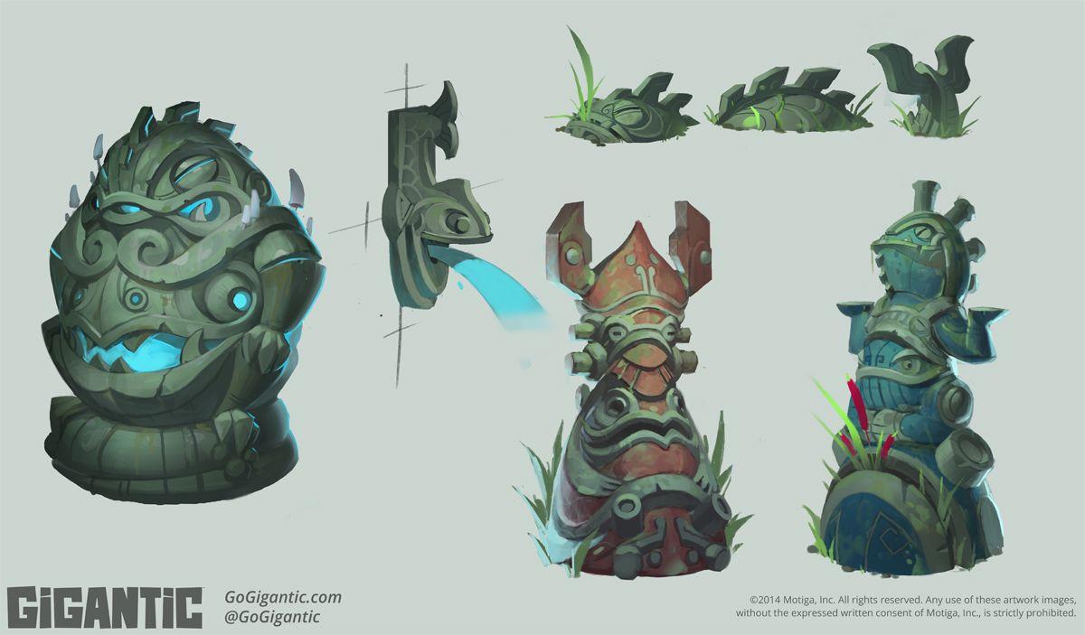 Sanctum Overwatch Art Design