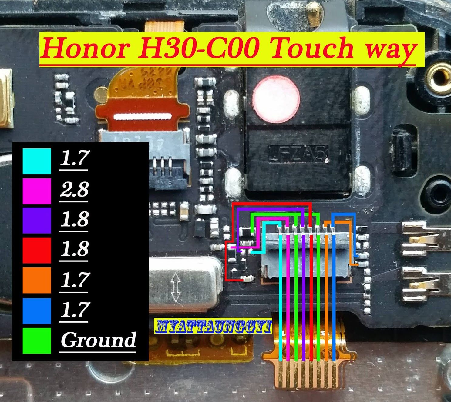 Huawei Honor 3c Touch Screen Not Working Problem Solution Jumpers Smartphone Repair Phone Solutions Mobile Tricks