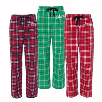 b0f0999147 Find your must have Mr. and Mrs. Claus Christmas Pajamas here! Cozy up by a  fire in these comfy cozy matching flannel pajamas. This is a set of 2 tops  and 2 ...