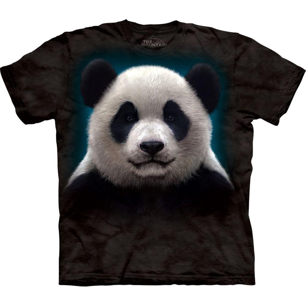 "The Mountain Kinder T-Shirt /""Panda Head/"""