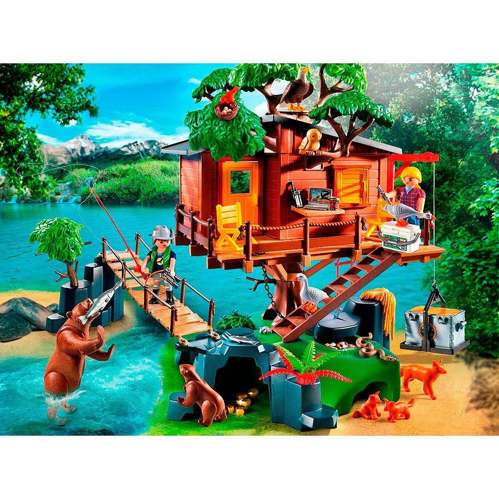 Descubre las aventuras en la casa del rbol de playmobil for La casa de playmobil