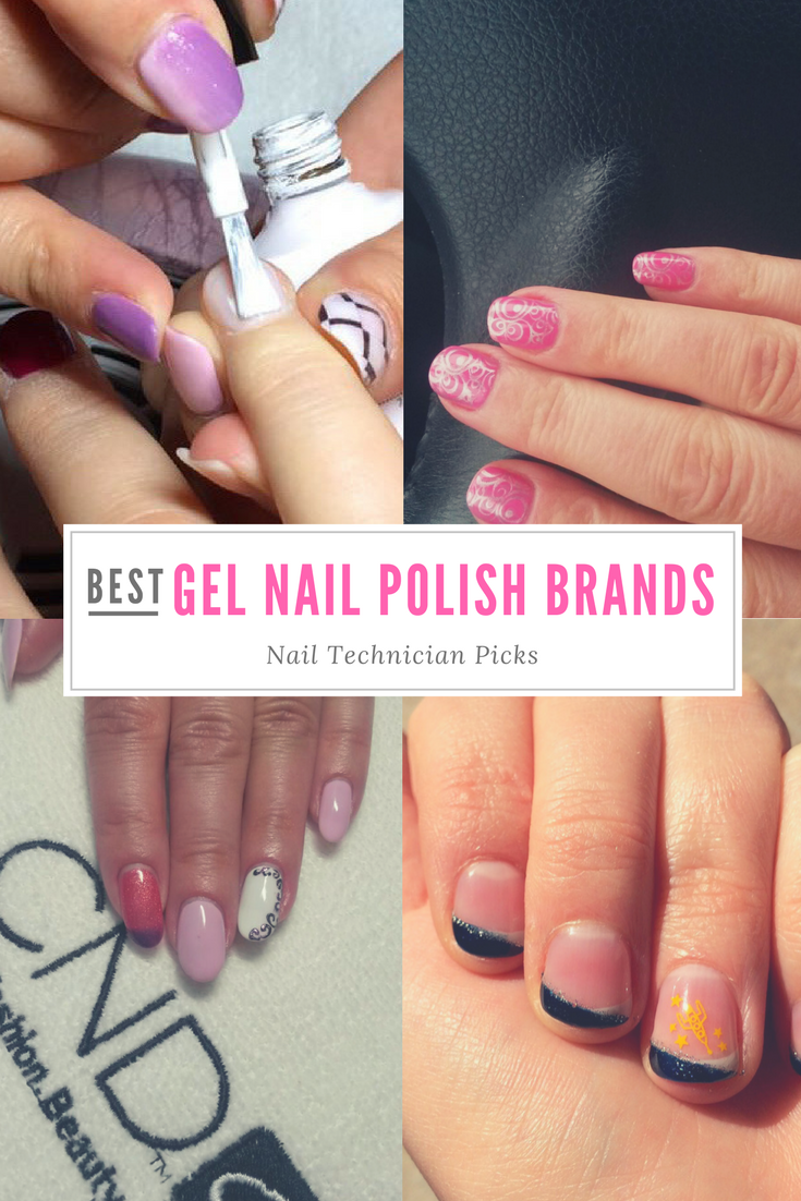 Best Gel Nail Polish Brands (Nail Technician Picks!) Simple colors ...