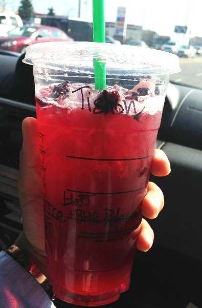 Starbucks Berry Hibiscus Passion Tea Starbucks Secret