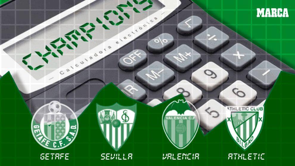disfrute del envío de cortesía venta outlet bien fuera x Liga Santander 2018-19: El calendario y las cuentas por el ...
