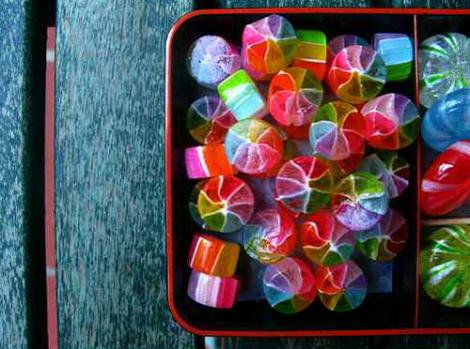 japanese rainbow candy by miumiu