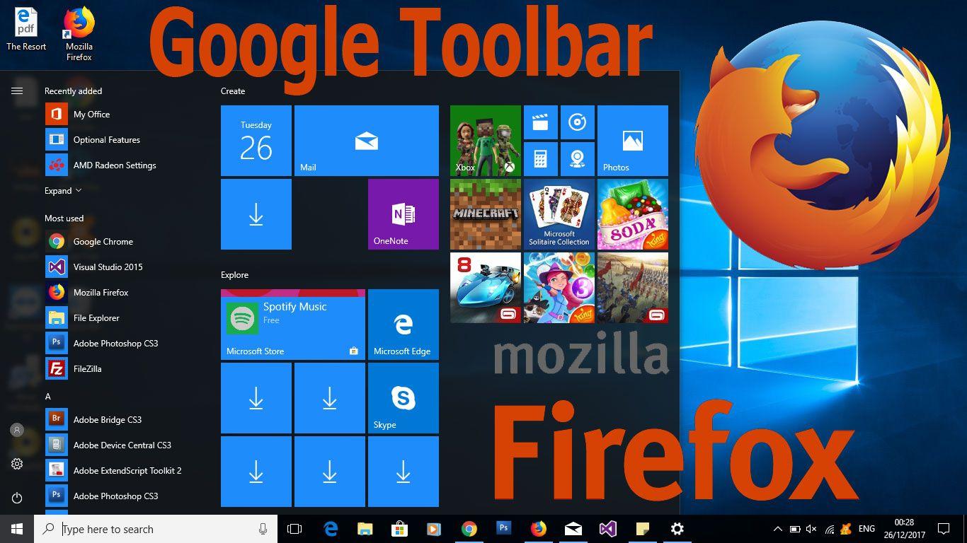 For Windows 10 Firefox | Google Toolbar | Windows, Windows