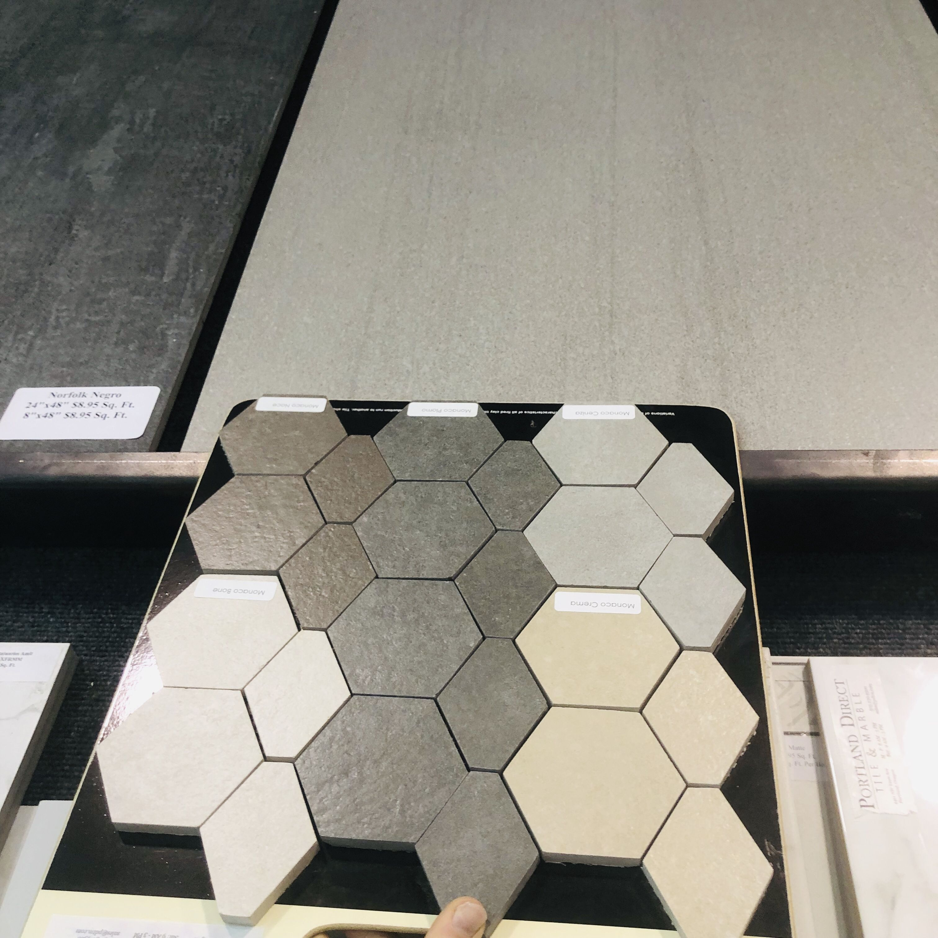 Geometric Mosaics At Portland Direct Tile Marble With Images