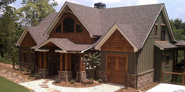 Rustic home exterior colors designs and ideas 2018 2019 - Mountain home exterior paint colors ...