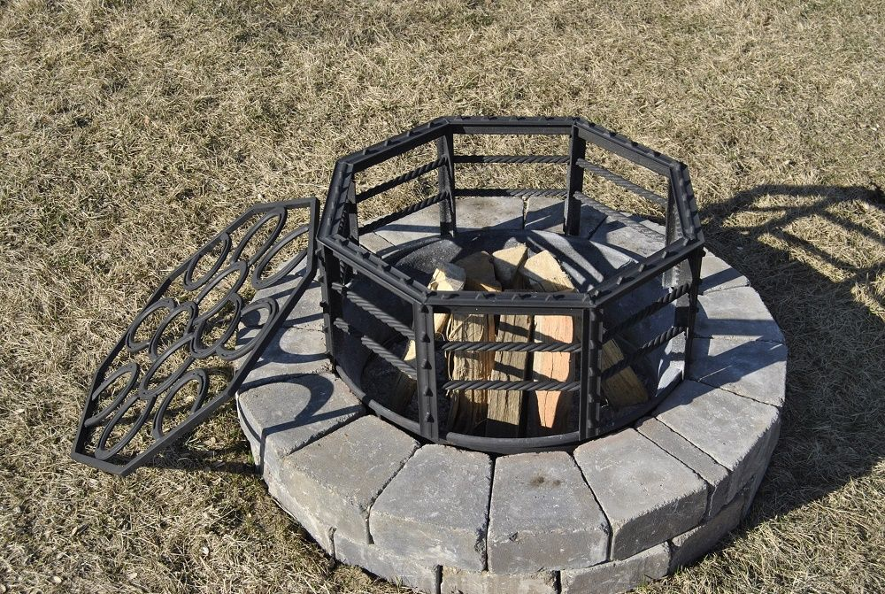 Fire Pit Topper/Grill | Western Designs - Fire Pit Topper/Grill Western Designs Stall Basteln Pinterest