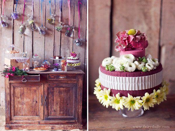Rustic Wedding Inspiration from La Belle France