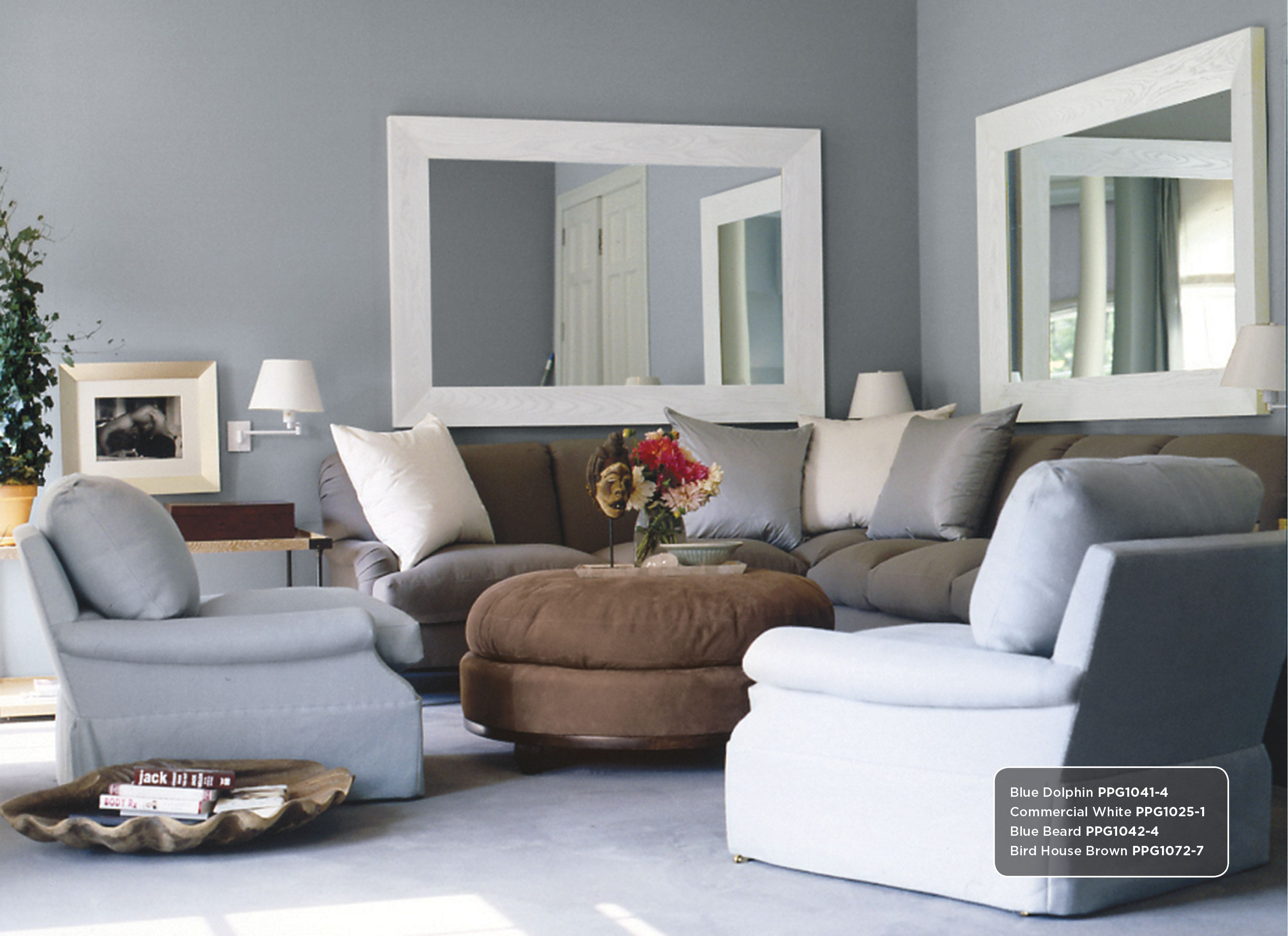 blue gray wall color inspiration includes: commercial white
