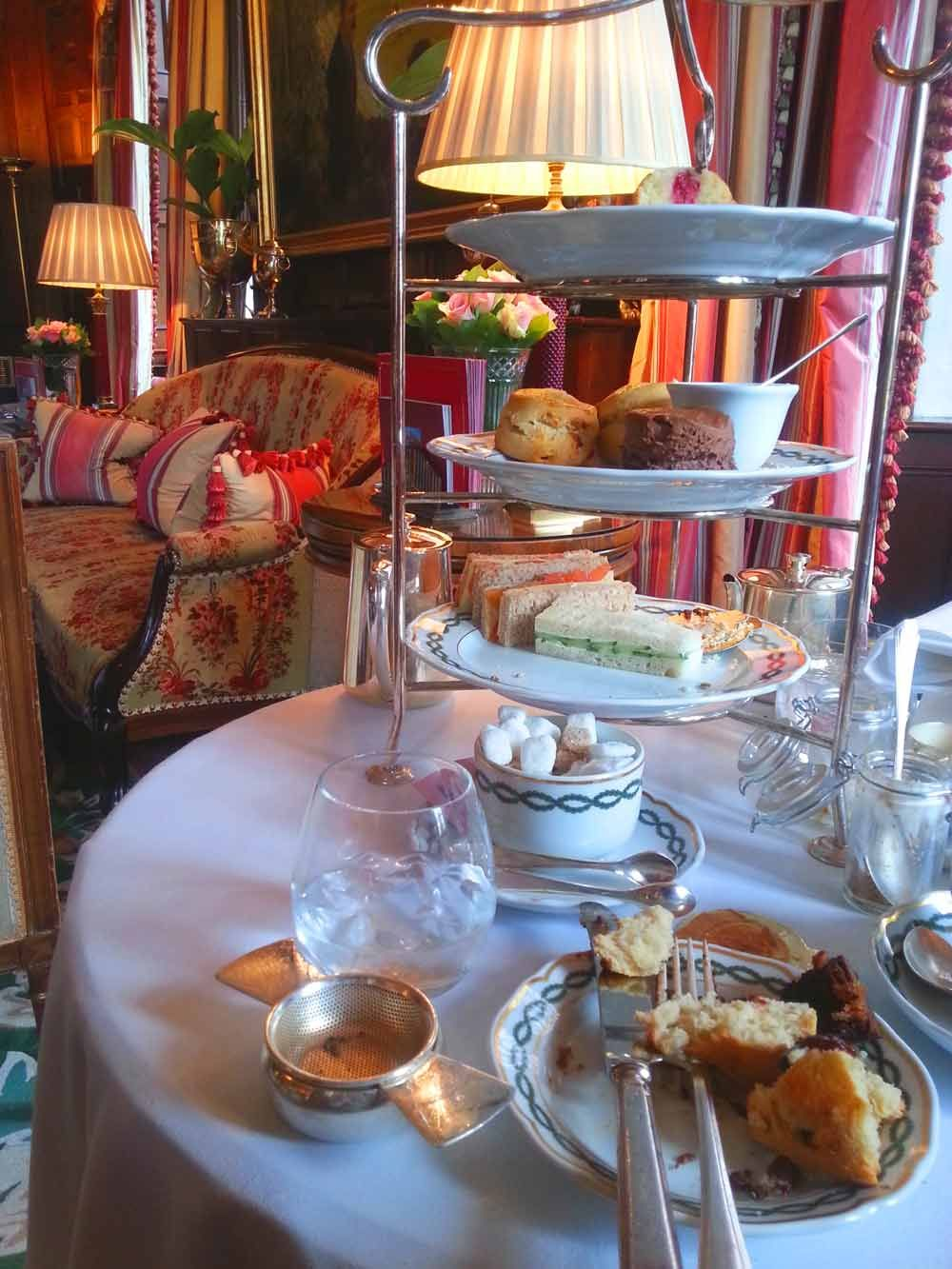Sandwiches and scones: A Royal Afternoon Tea at The Milestone Hotel