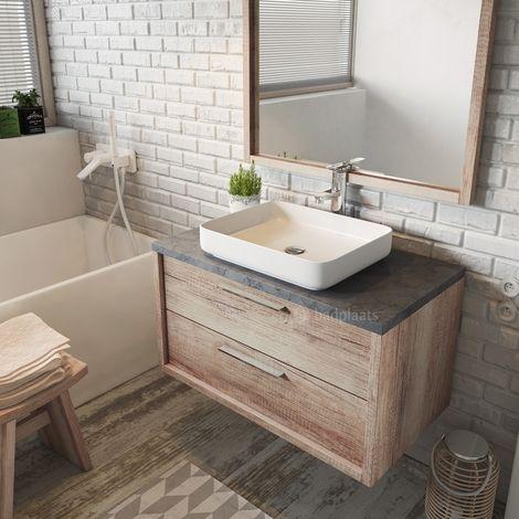 Gaste Wc Badmobel Waschbecken Mit Unterschrank Und Ablagefacher